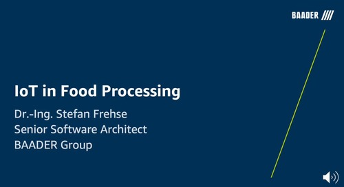 IoT in Food Processing