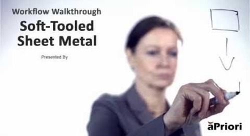 How to Calculate the Cost of a Soft-Tooled Sheet Metal Component