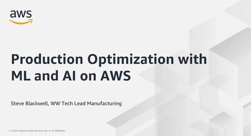 Production Optimization with ML and AI on AWS