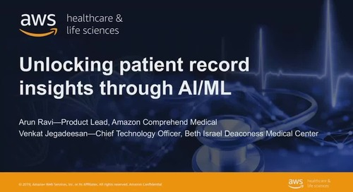 Unlocking patient record insights with AI/ML