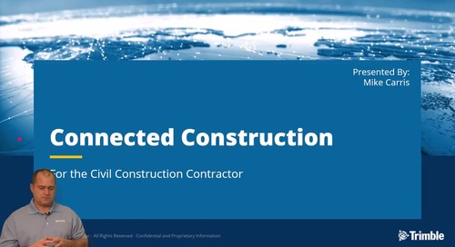 Trimble Connected Construction - Trimble Business Center WorksOS WorksManager