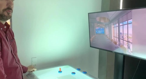 Video - Symetri Unity Interactive Table London Office Demo