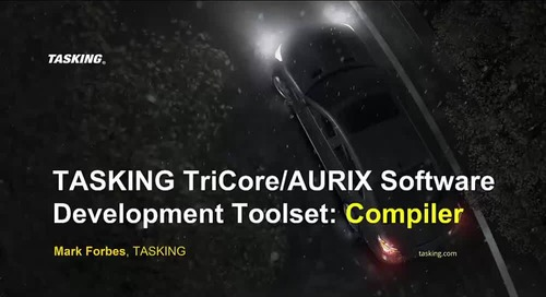 TriCore Compiler