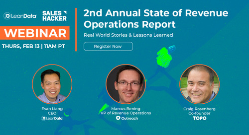 2nd Annual State of Revenue Operations Report: Real-World Stories & Lessons Learned