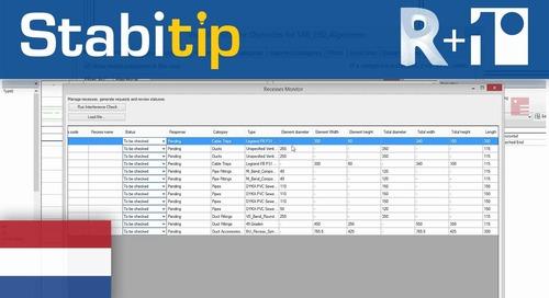 Sparingsverzoeken genereren en verwerken [Revit + Stabicad]