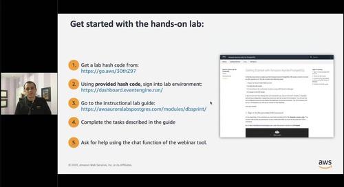 Amazon Aurora - Relational Database built for the Cloud Part 1