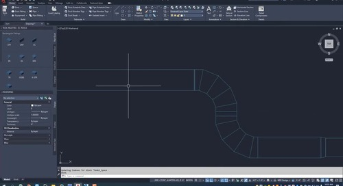 EC-CAD Sheet Metal Training Exercise Part 17:Setting Up Round & Oval Duct Couplings