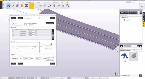 Tekla Structures for Bridge Designers - From Road Alignment to Rebar Detailing