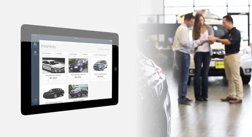 Dealertrack Digital Retailing Showroom App: Maximize your dealership's sales potential.