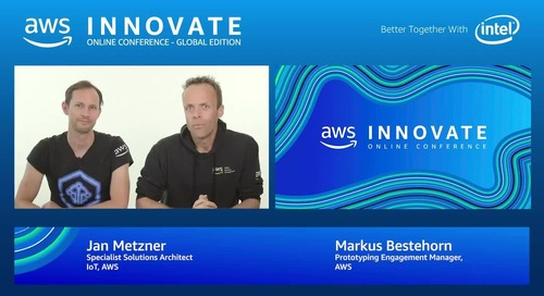 Serverless Industry 4.0 & AI Drive business insights from machine data - AWS Innovate