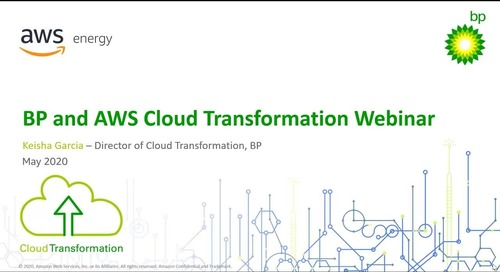 BP accelerates cloud transformation with AWS