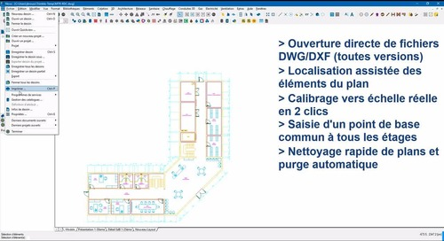 Video présentation Nova - Import DWG