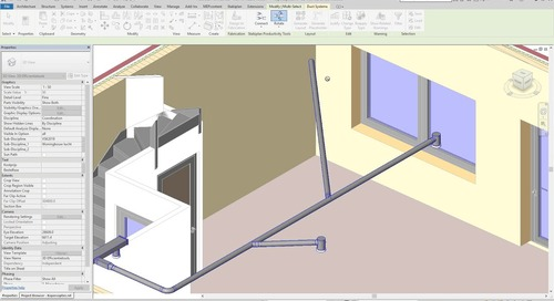 Copy and immediately connect elements in Revit | Productivity Tools App for Revit