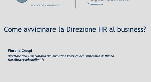 Come avvicinare la Direzione HR al business?