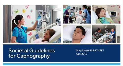 Detailed Overview: Societal Guidelines for Capnography