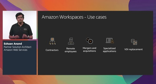 Move your desktops and applications to AWS end-user computing