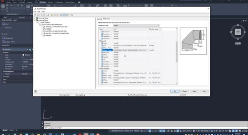 EC-CAD Sheet Metal Training Exercise Part 4: Creating Routing Preferences
