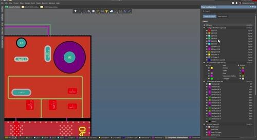 如何设置和使用courtyard、装配和其它元件层对