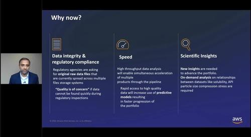 Pfizer: Building Pfizer's Scientific Data Cloud on AWS