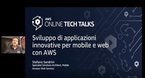 Sviluppo di applicazioni innovative per mobile e web con AWS_20_05_Video