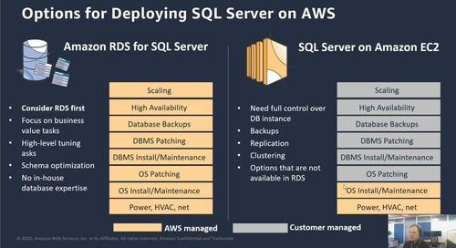 Session 5 - RDS for SQL Server