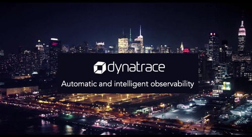Automatic and intelligent observability for AWS with Dynatrace