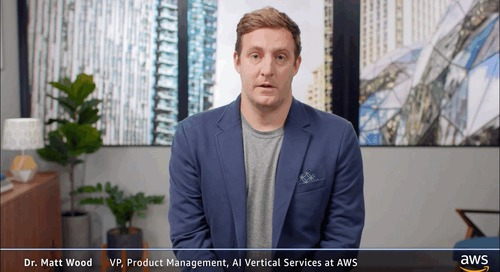 AWS Viewpoints - Why is this the golden age of Machine Learning?