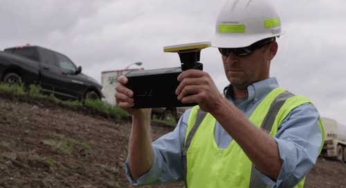 Trimble SiteVision and Cold Spring Construction