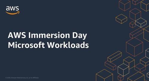 Immersion Day: Microsoft Workloads EN