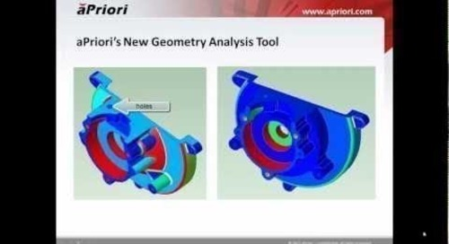 Geometry Analysis Tool Helps Identify Cost Drivers