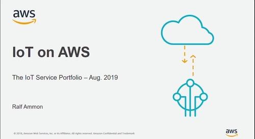 AWS IoT Service Portfolio
