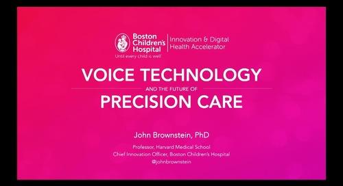 Voice and the future of precision care