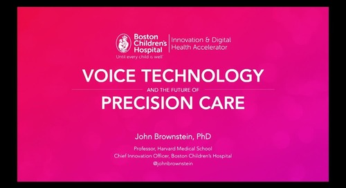 Voice and the future of precision care