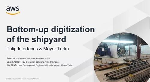 Bottom-up Digitization of the Shipyard with Tulip