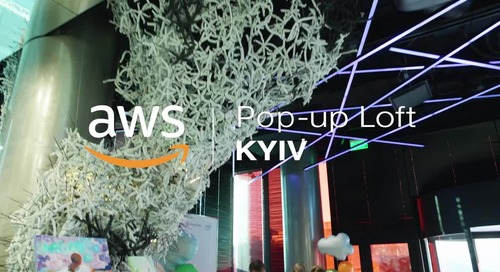 AWS Pop-up Loft in Kyiv