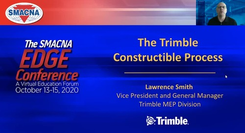 Connected Construction - Trimble MEP at The 2020 SMACNA Edge Conference