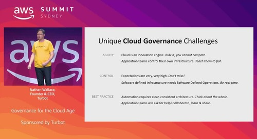 Governance for the Cloud Age(Sponsored by Turbot)