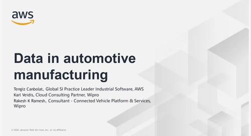Wipro_ Data in Automotive Manufacturing
