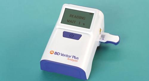 BD Veritor™ Plus System: Rapid SARS-CoV-2 & flu A+B testing