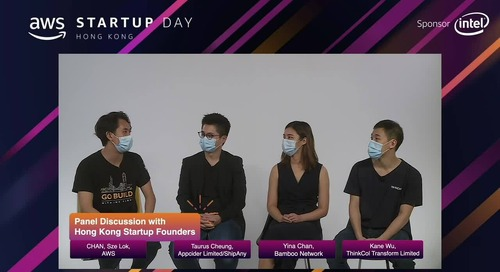 Panel Discussion with Hong Kong Startup Founders