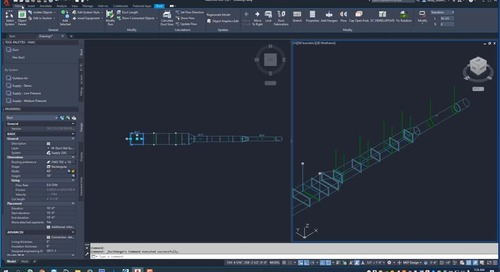 Getting Started with EC-CAD HVAC Part 3: Hangers