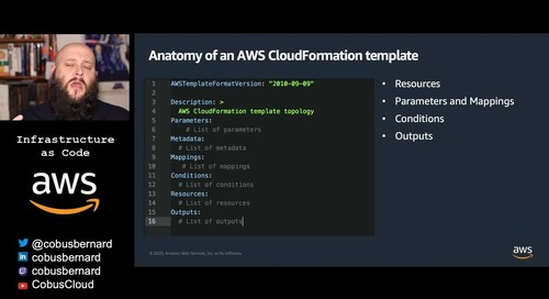Getting started with AWS: Infrastructure as Code