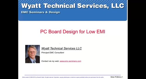 How to Design Your PCB for Low EMI