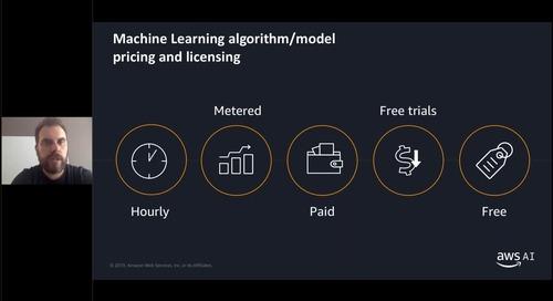 Accelerare l'utilizzo del Machine Learning con le soluzioni ML pronte per l'uso del Marketplace AWS