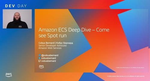 AWS Dev Day: Amazon ECS - используем Spot instances на полную