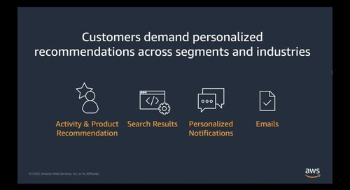 AWS Industry Webinar – The Power of Data in Customer Experience Management (Episode 2 - Cantonese Webinar)