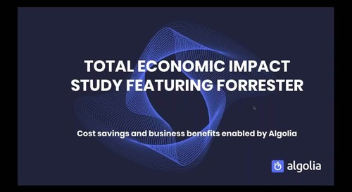 Total Economic Impact Study featuring Forrester