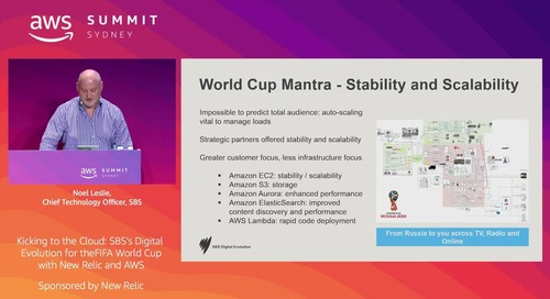 Kicking to the Cloud: SBS's Digital Evolution for the FIFA World Cup (Sponsored by New Relic)