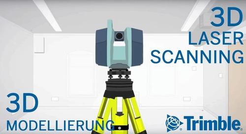 3D Laserscanning & 3D Modellierung ► Gebäudevermessung | Trimble
