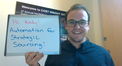 Andy Berryann - Automation in your strategic sourcing